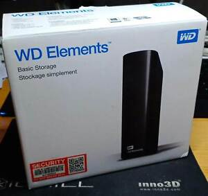 WD Elements 18 TB * WDBWLG0180HBK-EESN
