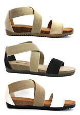 BIONATURA 34 A 825 IMB sandali pantofole ciabatte zoccoli infradito donna zeppa