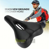 Comfort Wide Big Bum Bike Bicycle Gel Cruiser Sporty Soft Pad Saddle Seat