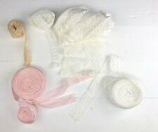 Assorted Width Length Elastic Stretch Lace Trims Bridal Wedding CRAFT Sewing