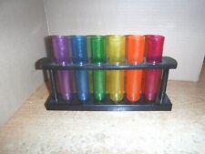 Multicoloured Pack Of 20 Shot Glasses Chef Aid Coloured Plastic