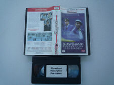 THE SHAWSHANK REDEMPTION  les évadés  tim robbins  morgan freeman VHS vintage ex