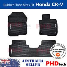 Honda CR-V CRV Gen 5th 2017- now Tailored All Weather Rubber Car Floor Mats