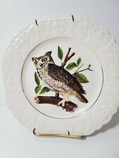 Lord Nelson Pottery Vintage Owl Plates Handcrafted in England