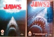 JAWS 1 & 2 [One,Two] Steven Spielberg*Roy Scheider Epic Shark Thriller DVD *EXC*