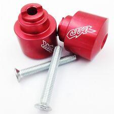For1987-2006 Honda CBR 600 F1/F2/F3/F4/F4i Red Bar Ends new