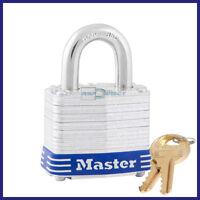 Master Lock No. 3 Laminated Padlock