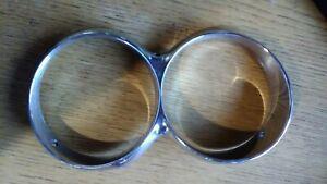 1964 1965 Ford Thunderbird Headlight Chrome Trim Bezel Rings
