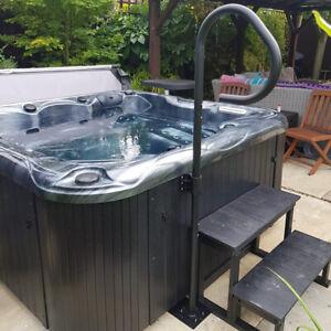 Hot Tub Suppliers Twist Hand Rail