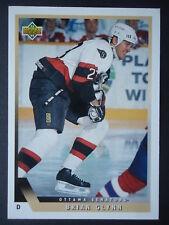 NHL 458 Brian Glynn Ottawa Senators Upper Deck 1993/94