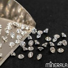 CVD LAB GROWN DIAMONDS FACETED ROUND SHAPE D-F VS LOOSE GEMSTONE WP02712