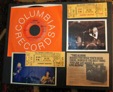 Johnny Winter And Orig 1971 Fillmore Single Of Jumping Jack Flash11x14 More 1/1