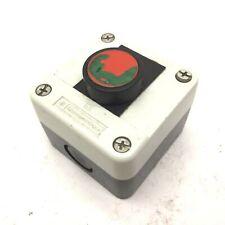 "Telemecanique Pushbutton Push Switch With XEN-L1111 Contact Block, 2-5/8x2-5/8"""