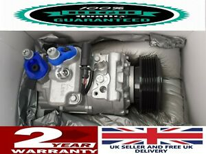 AIR CON COMPRESSOR PUMP TO FIT JAGUAR X TYPE All DIESEL ENGINES