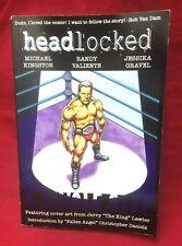 Headlocked A Single Step Comic Book Michael Kingston Professional Wrestling