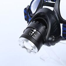 5000LM CREE XM-L XML T6 LED 18650.Scheinwerfer Kopflampe Stirnlampe Kopf Lampe