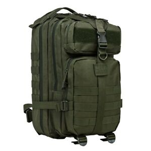 """NcSTAR VISM Small Backpack GREEN Bug Out Bag 72 Hour Kit NWT 17""""x8.75""""x4.5"""""""