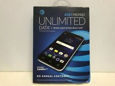 Alcatel - CAMEOX 4G LTE with 16GB Memory Cell Phone - Arctic White (AT&T). NIB.