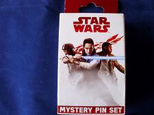 Disney * STAR WARS - THE LAST JEDI - THE RESISTANCE * New 2-Pin Mystery Box