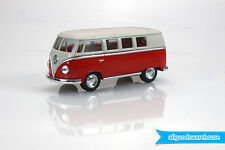 1962 Volkswagen Classical Bus 1:32 scale Die Cast Beige Top Red VW model Kombi