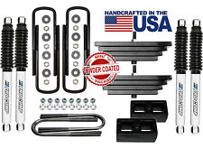 """2.8"""" Front 2"""" Rear Leveling Lift Kit ProComp Shocks 1999-2004 Ford F250 4X4 4WD"""
