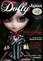 Dolly Japan #2 Japanese Doll Magazine w/ Extra