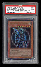 Yugioh BLACK LUSTER SOLDIER - ENVOY ioc-025 1st Edition Ultra Rare PSA 9 MINT