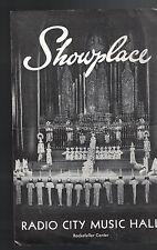 Radio City Music Hall Showplace March 30 1961 Fred MacMurray Nancy Olson