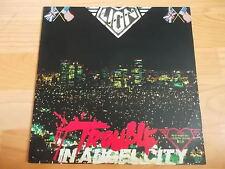 LION - Trouble In Angel City KOREA LP. EX- Bad Moon Rising