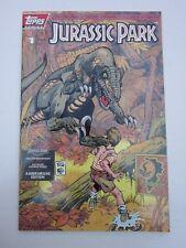 Jurassic Park Amberchrome Gold Foil Holo Cover Variant 1602/7500 1 Rare NM