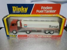 dinky 950 foden  tanker boxed 1978