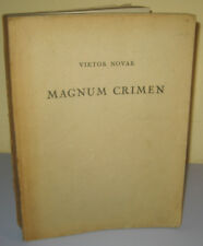 Magnum Crimen FIRST EDITION 1948 RARE Half a century of clericalism in Croatia