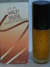 Coty  WILD MUSK Cologne Spray  1.5 fl.oz.