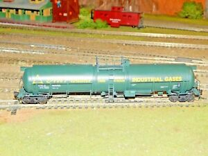 Broadway Limited HO #6321 Air Products Cryogenic Tank Car #80055 RTR NEW