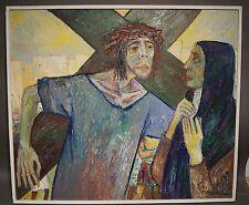 Alfred G. Seidel (*1933, Schorndorf, Baumeister) - Christus und Maria (S38)