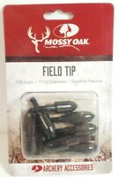 Mossy Oak Archery Bow Accessories Field Tips 125 Grain 11/32 Diameter 10 Pieces