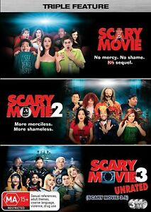 Scary Movie 1 2 3  (DVD, 3-Disc Set) NEW