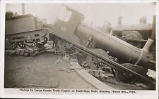 Tunbridge Wells Station. Goods Train Railway Disaster 1905 by Lankester, T.Wells