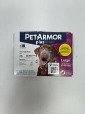 Petarmor Plus for Dogs Flea and Tick Prevention Topical Dog Flea Treatment, 3
