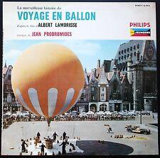 VOYAGE EN BALLON Musique JEAN PRODROMIDES RARE 25CM BIEM PHILIPS 76.199 NEUF