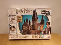 Harry Potter Hogwarts Castle - Wizarding World - Led Lights Up Puzzle 28cm Tall