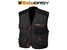 BETA TOOLS 7907E SLEEVELESS WORK JACKET, MULTIPOCKET STYLE, IN T/C CAN ALL SIZES