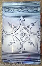 Sale Antique Victorian Ceiling Tin Tile Pie Cupboard Cabinet Doors Gothic Chic
