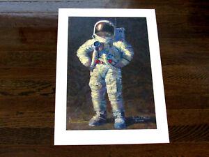 ALAN BEAN APOLLO 12 NASA ASTRONAUT SIGNED AUTO FEELIN FINE LITHOGRAPH PRINT