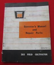 OLIVER 285 Field Cultivator Operators Setup Repair Operating Manual