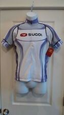 Sugoi Women's RSE S/S Jersey White/Purple Large Cycling Tri