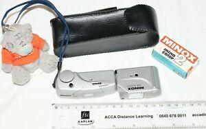 Minox MX Sub-Miniature Camera & Matching flashgun