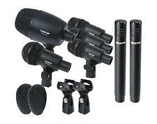 Takstar DMS7AS Drum Microphone Set with Case Drum Kit Microphones kits