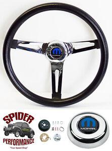 "1968-1969 Charger Dart Coronet steering wheel MOPAR 13 1/2"" MUSCLE CAR CHROME"