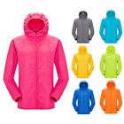 Men Women Waterproof Windproof Jacket Outdoor Bicycle Sports Quick Dry Rain Coat